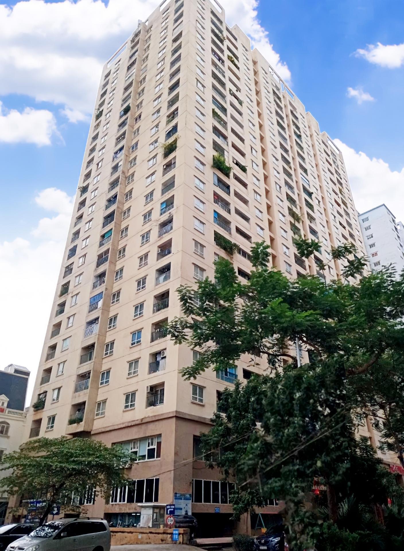 3. Tòa nhà hỗn hợp văn phòng và căn hộ CT4 Khu đô thị Văn Khê, phường la khê, quận Hà Đông, Thành phố Hà Nội (02 tầng hầ