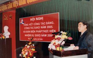 2.1 Hoi nghi Tong ket cong tac Dang, SXKD nam 2005 1