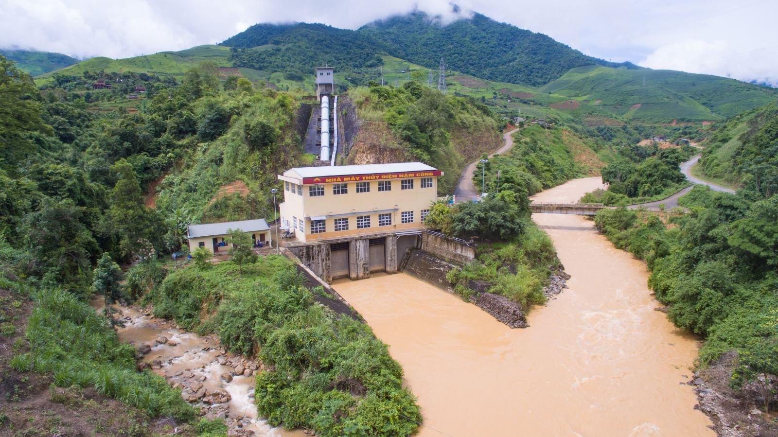 4.1 Nhà máy thủy điện Nậm Công 4, suối Nậm Công, xã Huổi Một, huyện Sông Mã, tỉnh Sơn La